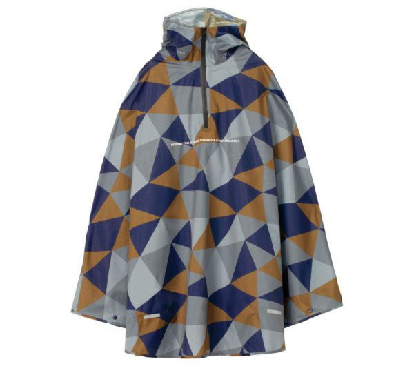 RAIN BICYCLE PONCHO-CRYSTAL
