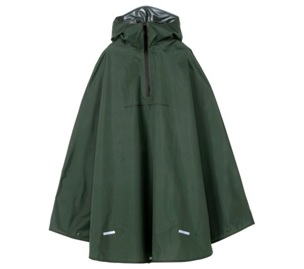 RAIN BICYCLE PONCHO-KHAKI
