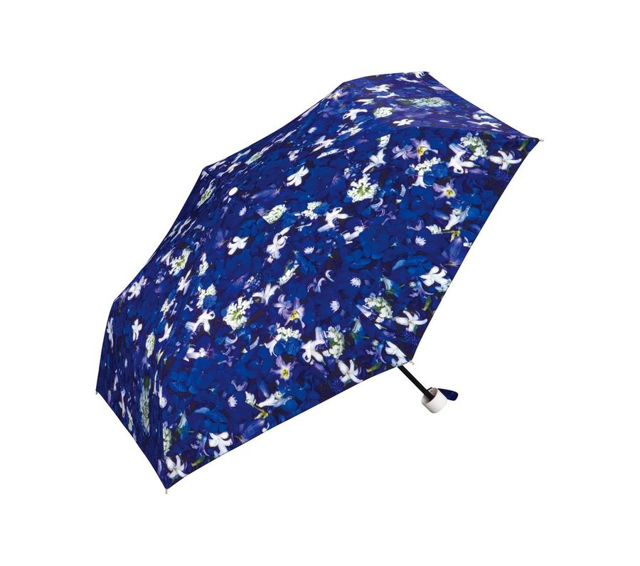 PLANTICA FLOWER UMBRELLA mini NAVY画像1