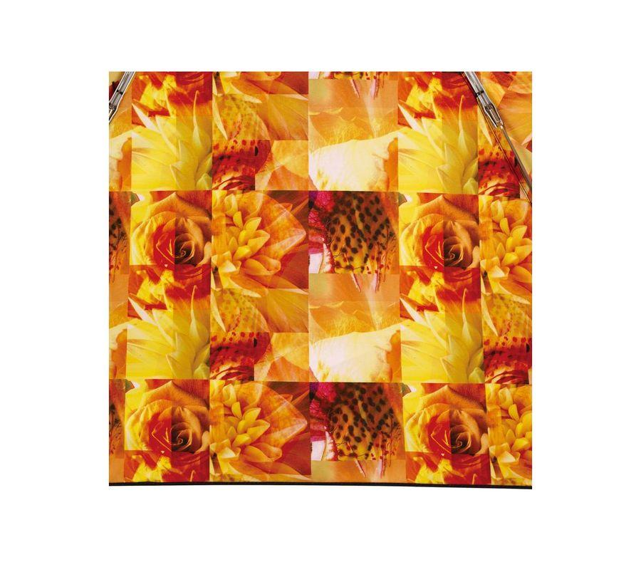 PLANTICA FLOWER UMBRELLA INSIDE PRINT mini ORANGE画像4