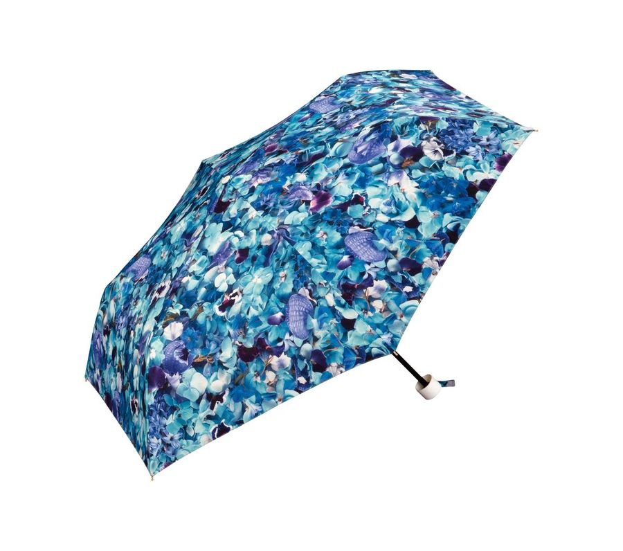 PLANTICA FLOWER UMBRELLA mini BLUE画像1