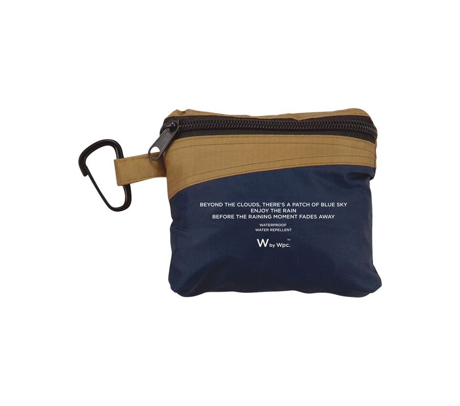RAIN BACKPACK COVER NAVY × CAMEL画像2