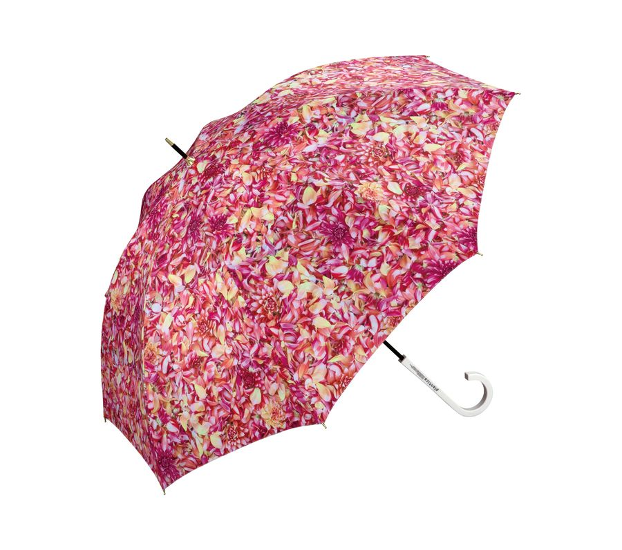 PLANTICA FLOWER UMBRELLA LONG PINK画像1