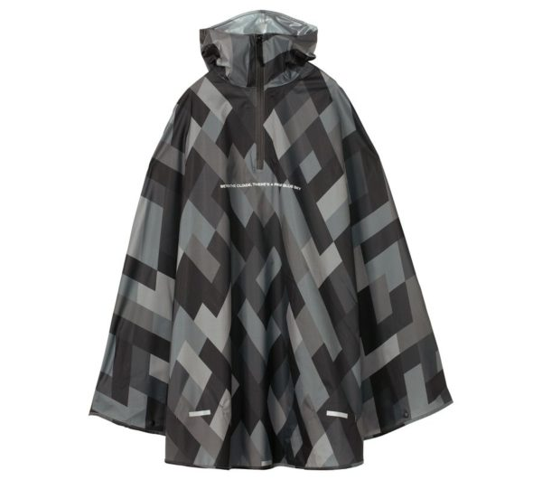 RAIN BICYCLE PONCHO-GEOMETRY