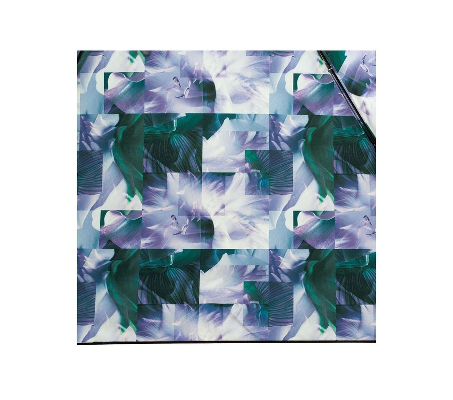 PLANTICA FLOWER UMBRELLA INSIDE PRINT mini BLUE画像4
