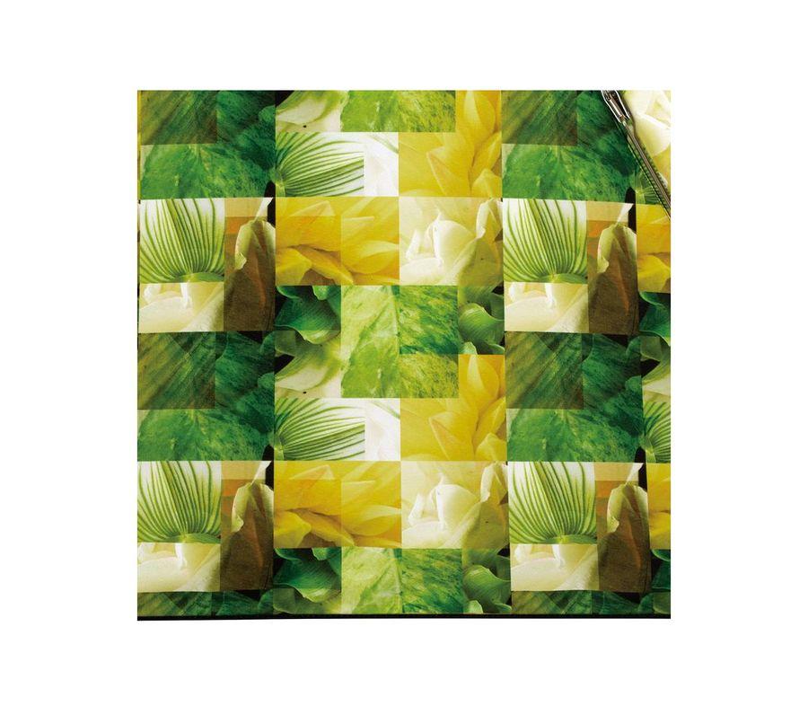 PLANTICA FLOWER UMBRELLA INSIDE PRINT mini GREEN画像4