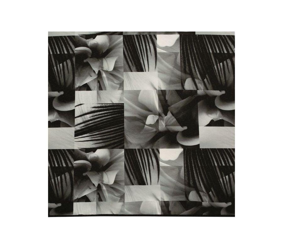 PLANTICA FLOWER UMBRELLA INSIDE PRINT mini BLACK画像4