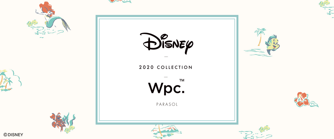 Disney 2020 COLLECTION Wpc.Parasol
