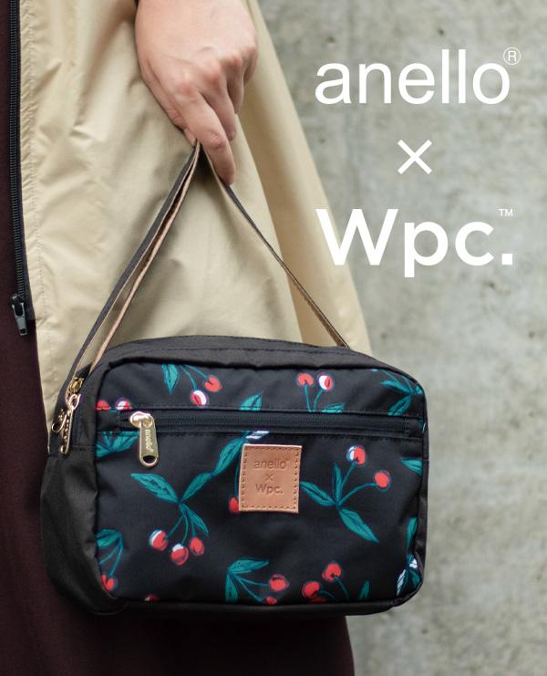 【anello®×Wpc.™】コラボバッグの第2弾がロフト限定で発売!