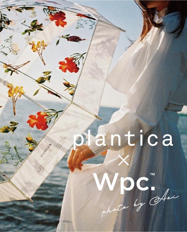 plantica×Wpc. 「FLOWER UMBRELLA」 Photo by Aoi