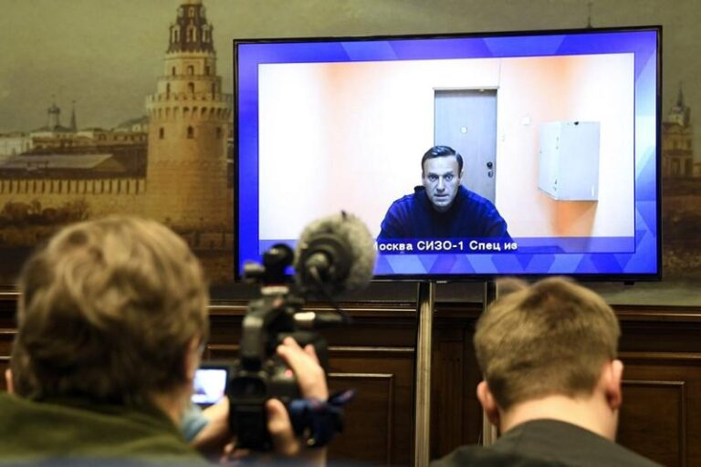 Russian court rules that opp leader Navalny must stay in jail