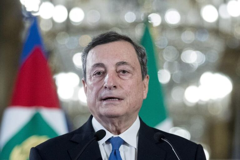 Italy's Conte signals lukewarm support for Draghi-led govt
