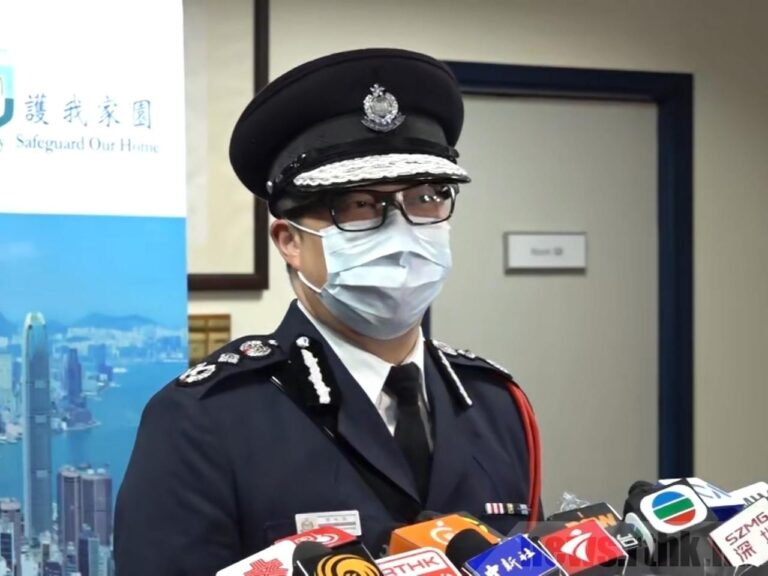 RTHK arrest averted serious incident: police chief