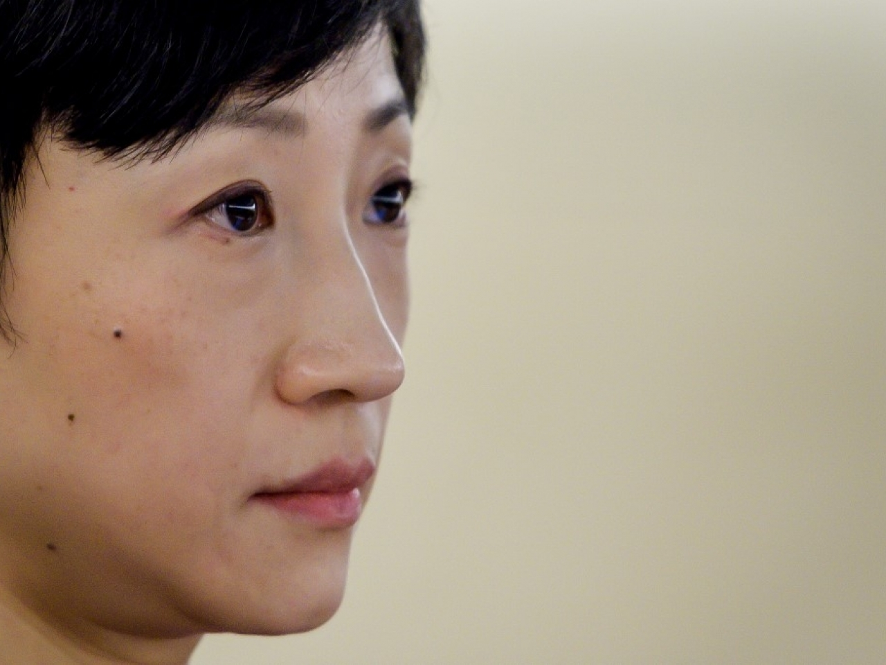 Former legislator Tanya Chan is accused of breaching the government's gathering limit. File photo: AFP