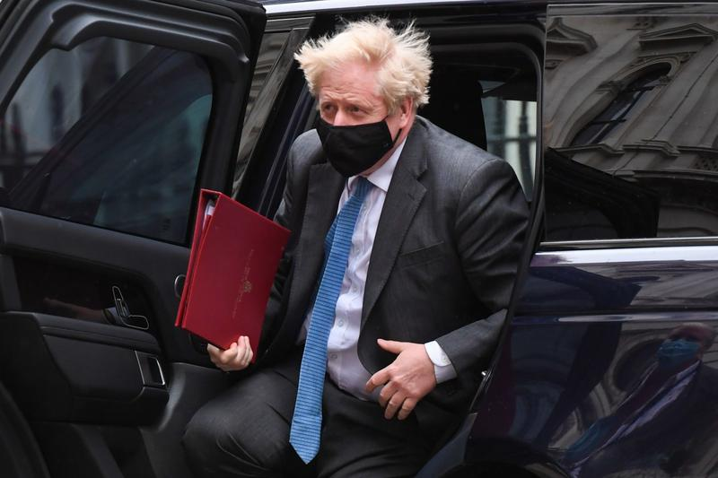 PM Johnson risks probe by UK parliament's conduct watchdog