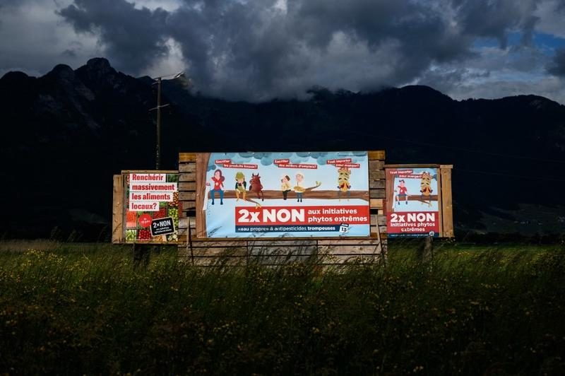 Swiss voters to decide on pesticides ban, terrorism law