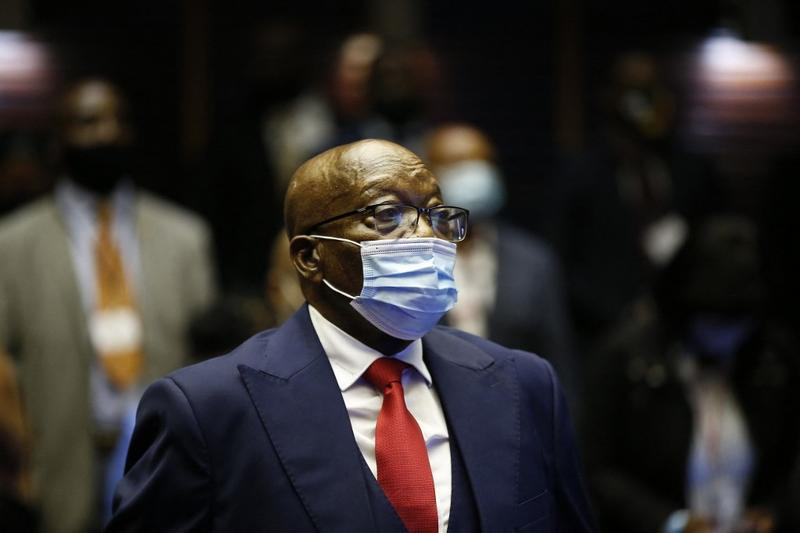 Former S. African leader Zuma sentenced to 15 months in jail