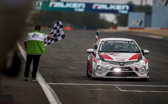 Class victory for Toyota Gazoo Racing Team Thailand at Nurburgring 24hrs, powered by Motul