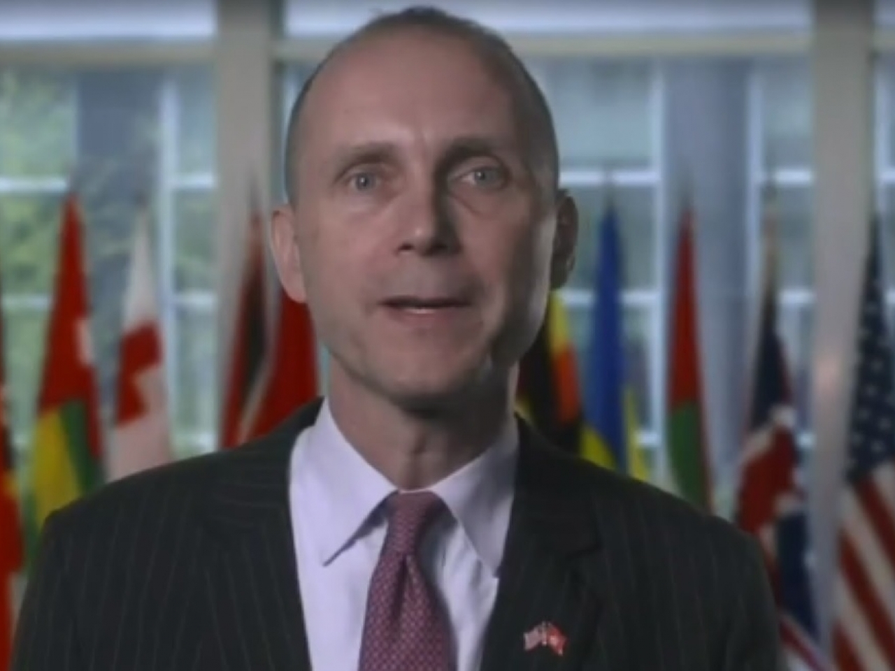 US consul hits out over 'foreign forces' crackdown