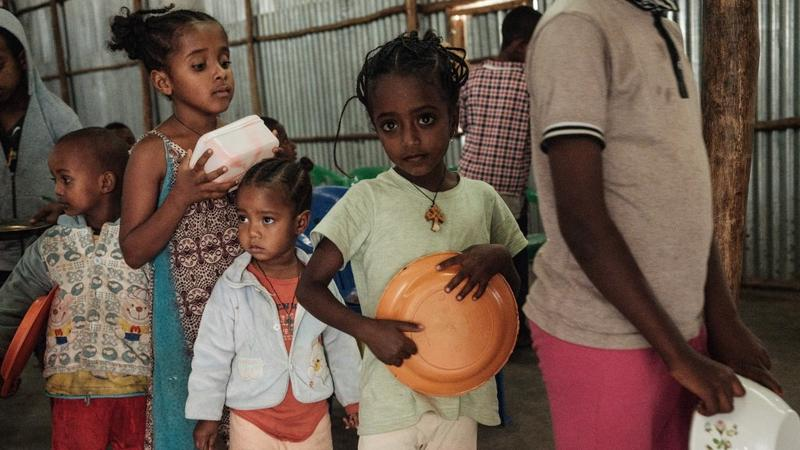 UN: Food, water running out in Tigray refugee camps