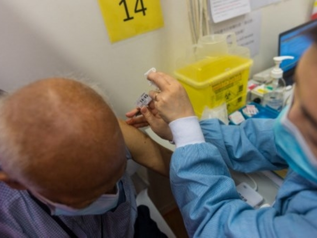 Hong Kong reaches 50pc vaccination rate for first jab