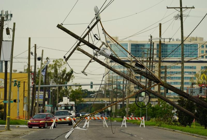 In Ida's wake, Louisiana faces a month with no power
