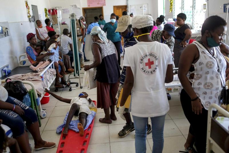 Red Cross: Coronavirus compounds climate disasters