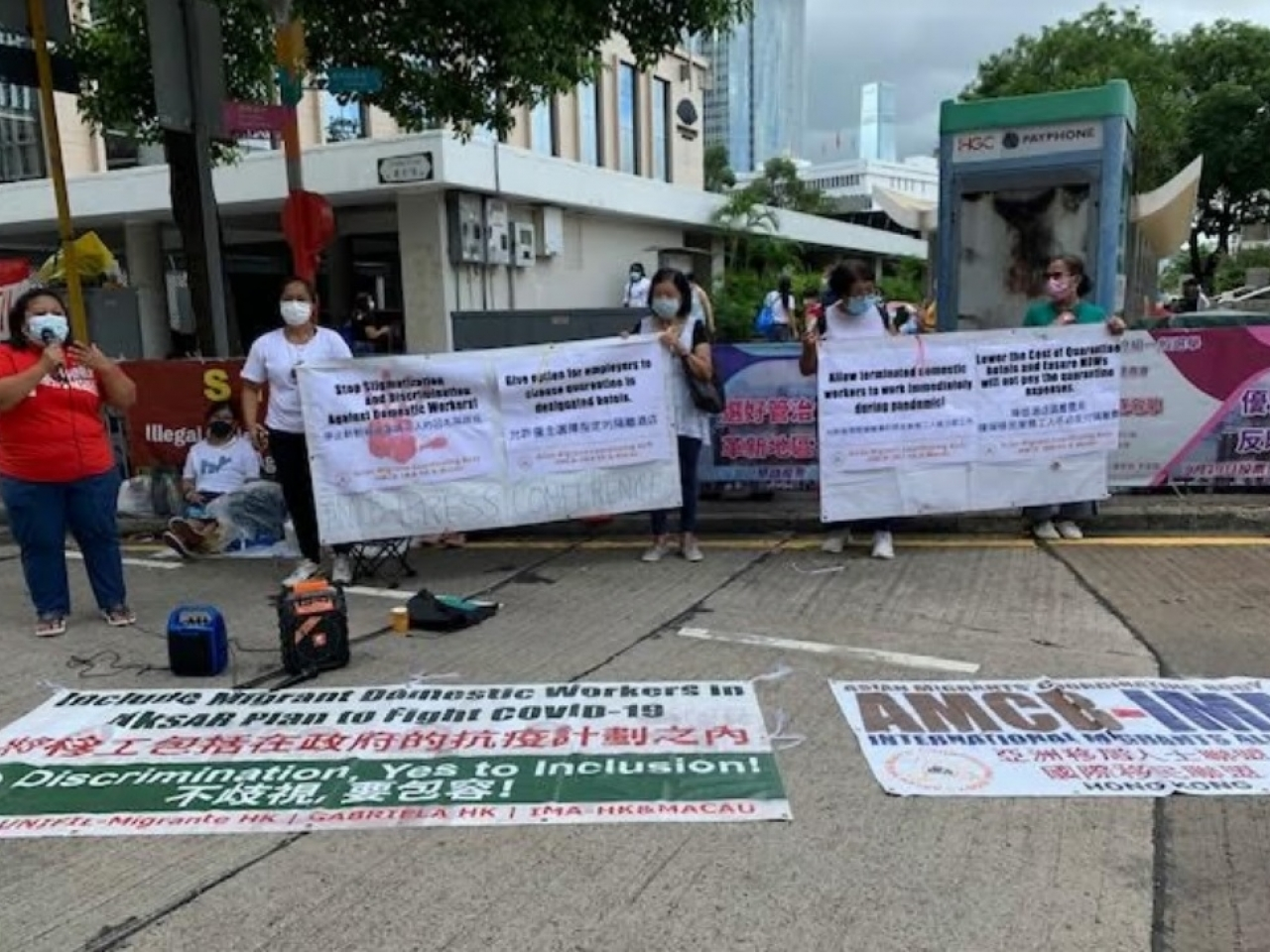 Govt urged to stop 'segregating' domestic helpers