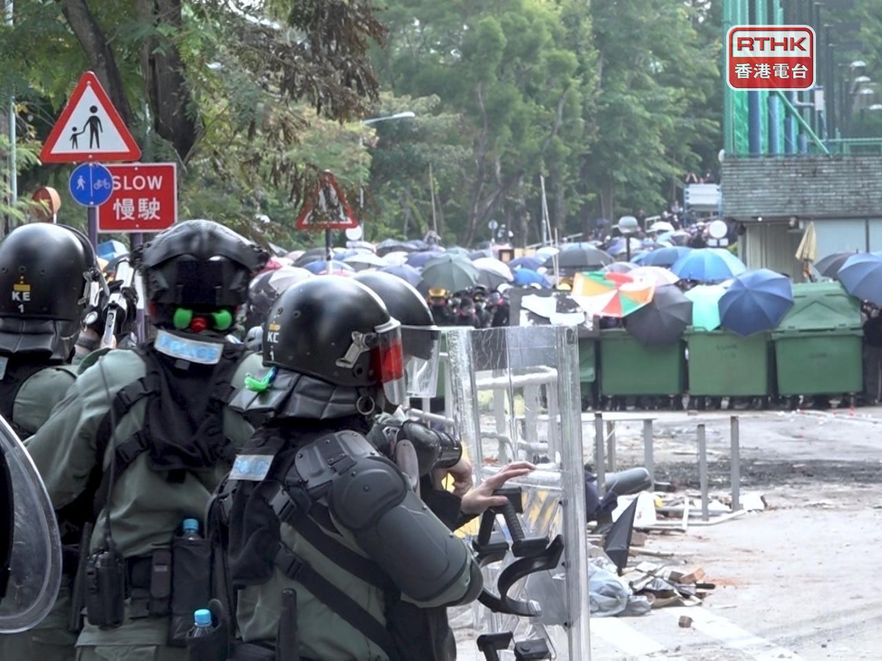 Five students found guilty of rioting at CUHK