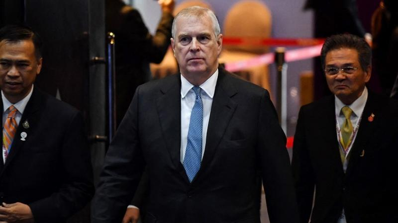 Prince Andrew served with court papers in sex assault case