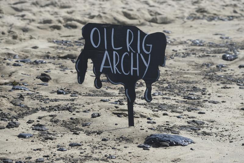 California govt proclaims state of emergency due to oil spill