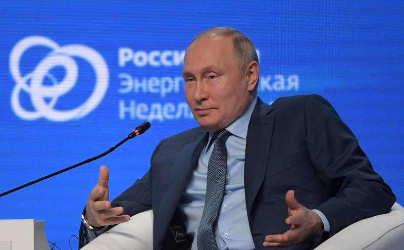 Putin: Russia can help Europe, not using gas as a weapon