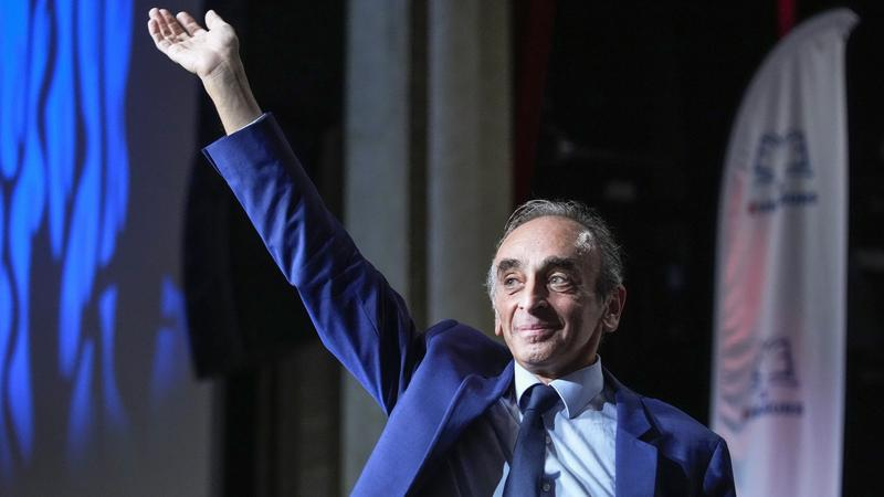 New poll puts Zemmour in round two of French vote