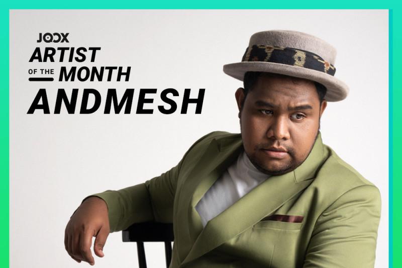 """Joox pilih Andmesh sebagai """"Artist of the Month"""""""