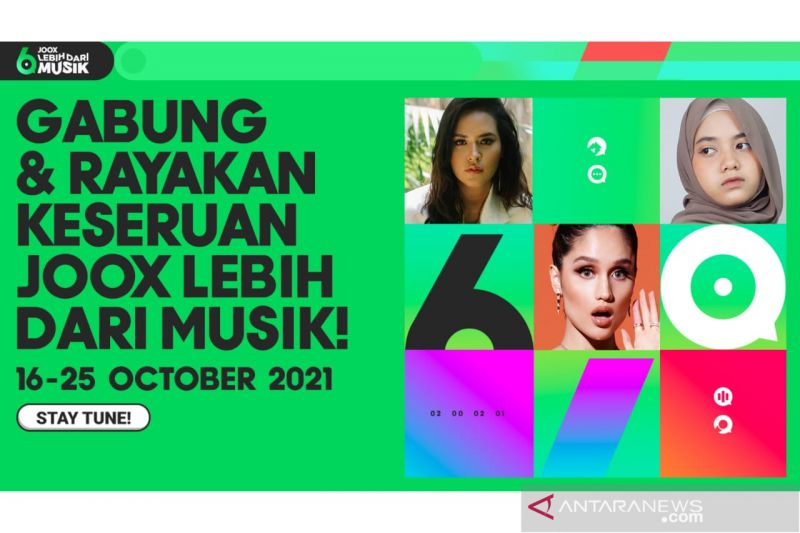 JOOX rayakan 6 tahun di Indonesia dengan kolaborasi kreator lokal