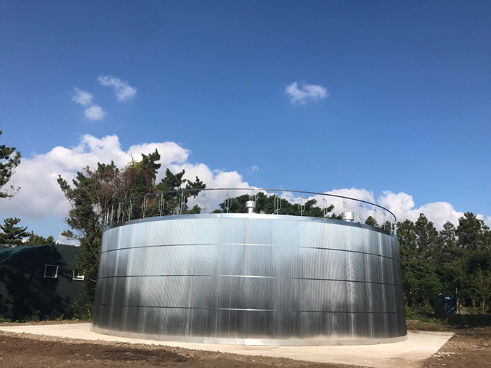 Hansamkora's STS water tank has been designated as an excellent procurement product of Korea, recognized for its innovative technology