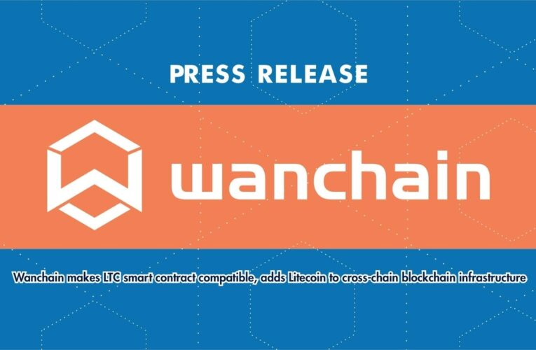 Wanchain Makes LTC Smart Contract Compatible, Adds Litecoin to Cross-Chain Blockchain Infrastructure