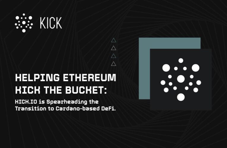 Cardano's New Lethal Weapon, Kick.io All Set to Dethrone Ethereum