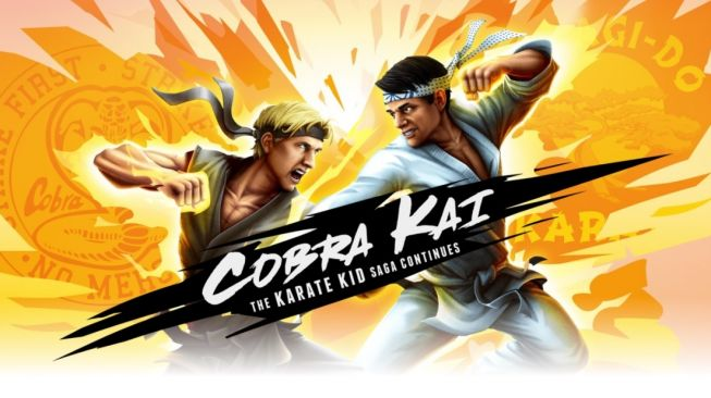 Cobra Kai: The Karate Kid Saga Continues. [Playcobrakai]