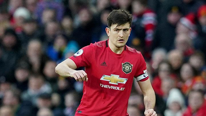 Pemain Manchester United Harry Maguire. REUTERS