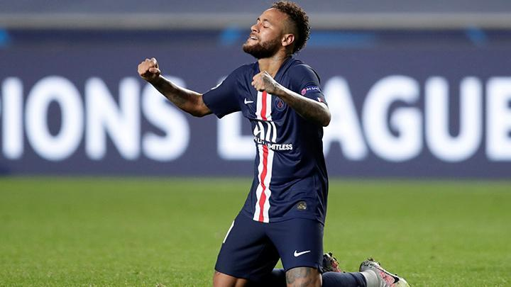 Pemain PSG, Neymar. Manu Fernandez/Pool via REUTERS