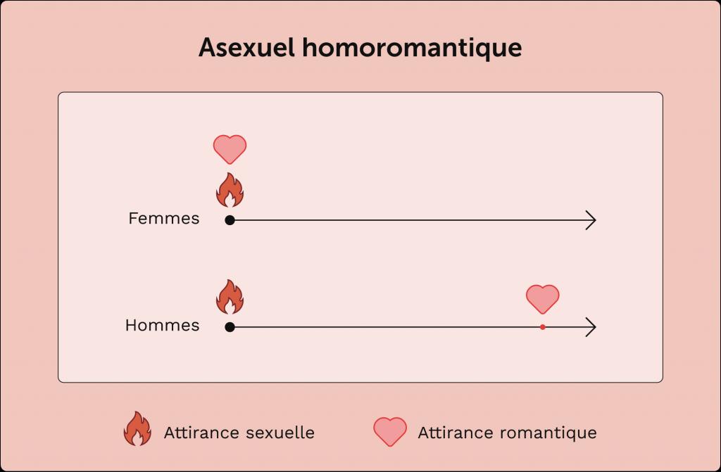 exemple de personne asexuelle homoromantique
