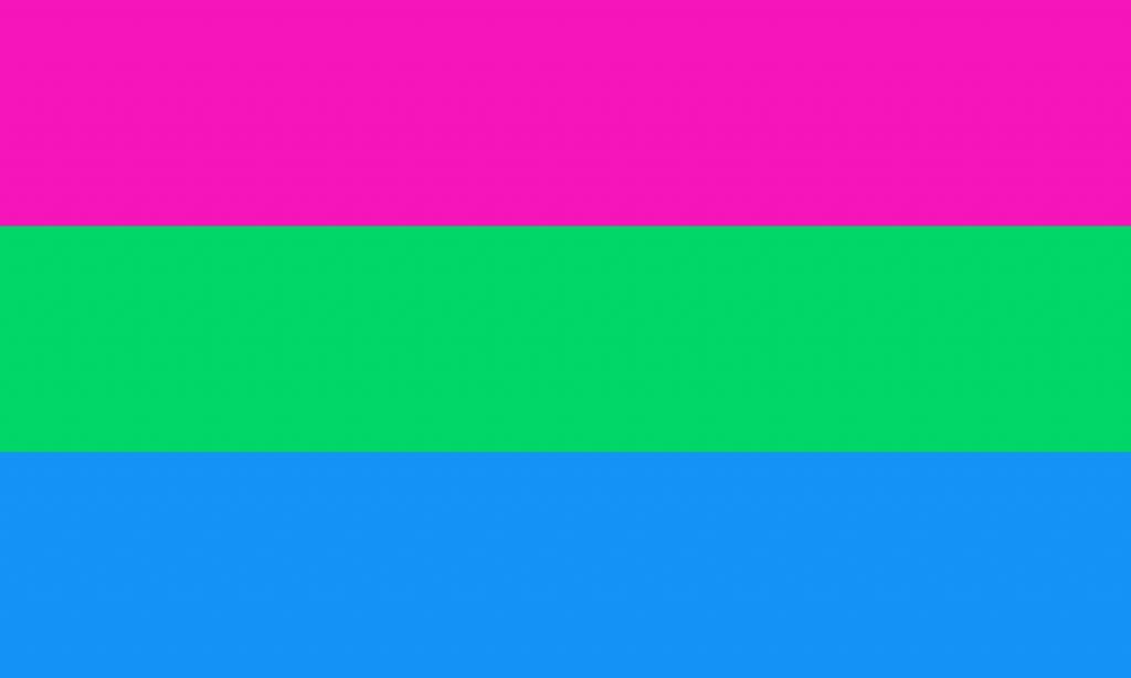 drapeau de la polysexualité