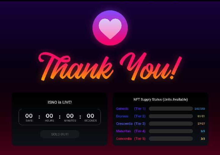 Torum Completed the World's First Initial Staking NFT Offering in Less than 20 Minutes