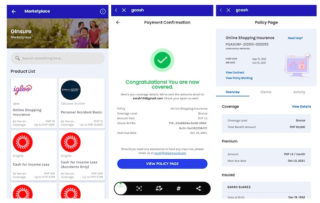 GCash Introduces First of Its Kind, Online Shopping Protection with Regional Insurtech Firm, Igloo