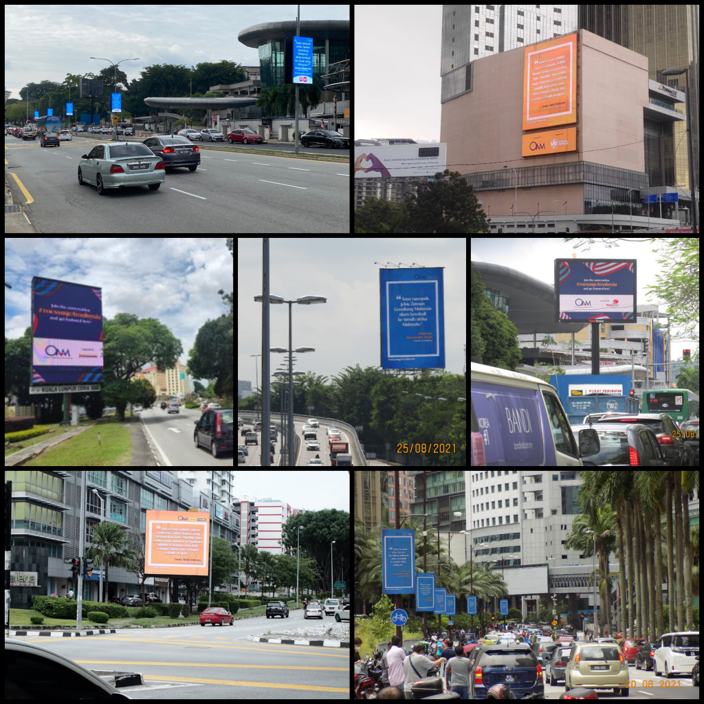 What's your message for Malaysia?