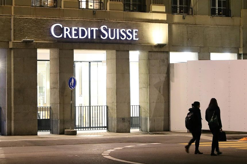 Credit Suisse Group is winding down two reinsurance vehicles, Humboldt Re and Kelvin Re. PHOTO: REUTERS