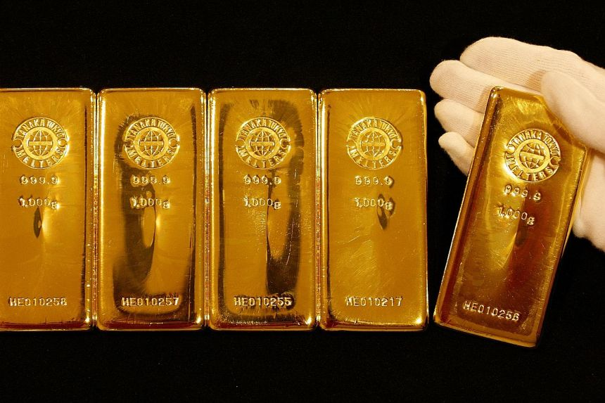 Spot gold rose 0.9 per cent to US$1,896.56 an ounce by 0745 GMT yesterday, having earlier hit its highest since Nov 9 at US$1,906.46.