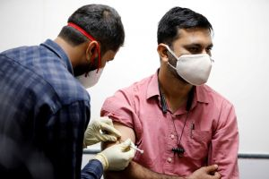 India has yet to approve any vaccine for emergency rollout.
