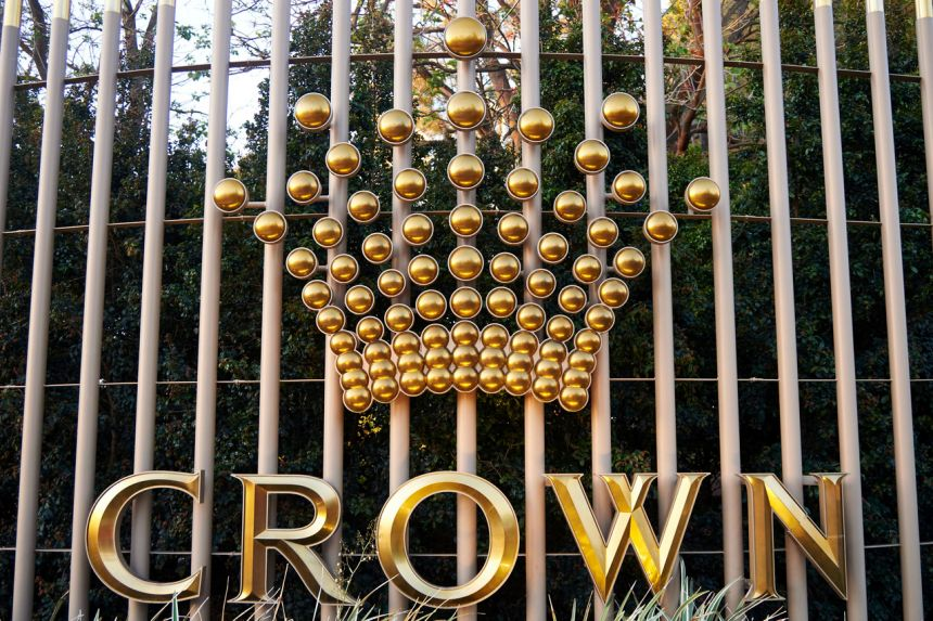Crown's gaming license has been suspended since it acknowledged the possibility of money laundering taking place at casinos.